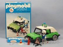 1. Brinquedos antigos - Trol - Playmobil Carro de Polícia Completo com um boneco Década de 1980