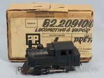 1. Brinquedos antigos - Atma - Locomotiva a vapor 040 completa com Caixa e Sobre-Caixa Original Década de 1970