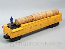 1. Brinquedos antigos - Lionel - Vagão 356250 Operating Barrel Car completo Ano 1955 a 1957