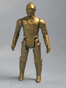 1. Brinquedos antigos - Glasslite - Robot C-3PO Star Wars Década de 1980
