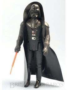 1. Brinquedos antigos - Glasslite - Darth Vader Star Wars Completo com Sabre de Luz Década de 1980