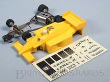 1. Brinquedos antigos - Estrela - Lotus Honda 100-T Série Duelo de Campeões Nelson Piquet Com Decais Originais Década de 1980