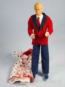 1. Brinquedos antigos - Mattel - Boneco Ken e vestido da Barbie Década de 1980