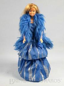 1. Brinquedos antigos - Mattel - Boneca Barbie Fashion Serie Oscar de La Renta Década de 1980