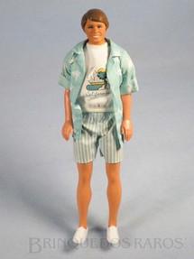 1. Brinquedos antigos - Mattel - Boneco Ken namorado da Barbie California Dream Serie Década de 1980