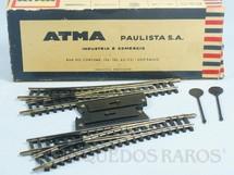 1. Brinquedos antigos - Atma - Par de Desvios manuais de níckel Década de 1970