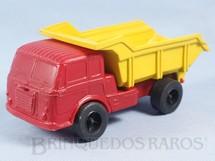 1. Brinquedos antigos - M.C.B. - Caminhão Basculante Alfa Romeo FNM 180 C Fenemê com 16,00 cm de comprimento Década de 1970