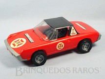 1. Brinquedos antigos - Casablanca e Gulliver - Volkswagen Porsche 914 com 27,00 cm de comprimento Fire Commander Década de 1980