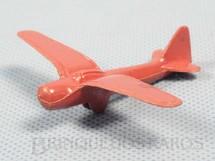 1. Brinquedos antigos - Sem identificação - Avião com 6,00 cm de envergadura Década de 1950