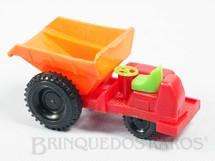 1. Brinquedos antigos - Sem identificação - Trator Caçamba com 12,00 cm de comprimento Década de 1980
