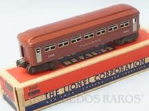 1. Brinquedos antigos - Lionel - Carro de Passageiros 2442 Pullman Car Silver Lettering Ano 1946