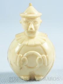 1. Brinquedos antigos - Sem identificação - Palhaço Chocalho com 5,00 cm de altura Brinde de Ovo de Páscoa Década de 1950