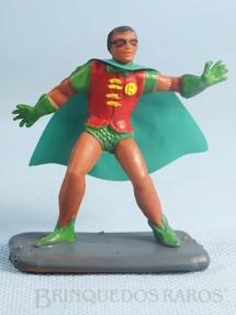 1. Brinquedos antigos - Casablanca e Gulliver - Robin de plástico pintado Década de 1970