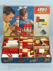 1. Brinquedos antigos - Lego - Lego Systen Caixa 030 Completo perfeito estado Ano 1965