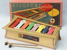 1. Brinquedos antigos - Estrela - Xilofone Melodioso Ano 1959