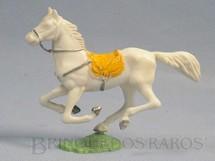 1. Brinquedos antigos - Casablanca e Gulliver - Cavalo de Cowboy branco Casablanca numerado 156
