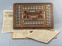 1. Brinquedos antigos - AutoBridge - Jogo de Bridge Auto Bridge Playing Board by Ely Culbertson Completo com 24 Cartelas Década de 1940