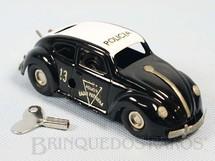 1. Brinquedos antigos - Estrela - Volkswagen Sedan Polícia Rádio Patrulha com 12,00 cm de comprimento Ano 1963
