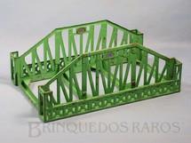 1. Brinquedos antigos - Lionel - Ponte 280 Single Span Standart Gauge Bridge 35,00 cm de comprimento Década de 1930