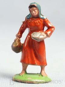 Brinquedos Antigos - Casablanca e Gulliver - Camponesa Série Presépio Casablanca numerado 229 Década de 1960