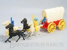 1. Brinquedos antigos - Estrela - Carroça Pioneiros Do Oeste Ano 1963