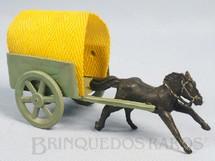 1. Brinquedos antigos - Sem identificação - Carroça com 14,00 cm de comprimento Década de 1960