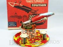 1. Brinquedos antigos - Ansa - Lançador de Foguetes Sputnik com 15,00 cm de altura Década de 1960