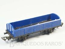 1. Brinquedos antigos - Atma - Vagão Gôndola com dois eixos Azul Década de 1970