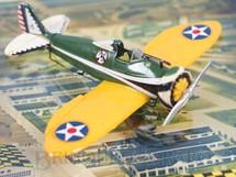1. Brinquedos antigos - Cox - Avião Boeing P-26A com 7,00 cm de envergadura Década de 1970