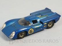 1. Brinquedos antigos - Solido - Lola T70 MK3B azul metálico Datada 1/70
