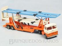 1. Brinquedos antigos - Corgi Toys - Scammel Tractor and Carrimore Trideck Transporter Década de 1970