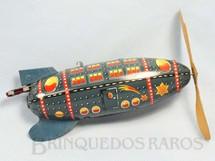1. Brinquedos antigos - Bing - Foguete com 18,00 cm de comprimento Década de 1930