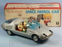 1. Brinquedos antigos - Bandai - Carro espacial Space Jaguar Space Patrol Car Década de 1970