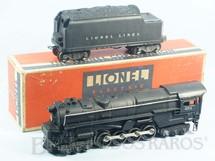 1. Brinquedos antigos - Lionel - Locomotiva a Vapor 671 Pennsylvania Steam Turbine com apito e fumaça Ano 1946