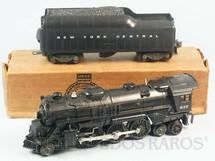1. Brinquedos antigos - Lionel - Locomotiva a Vapor 637 com apito e fumaça Ano 1946 a 1963