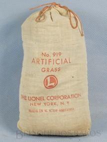 1. Brinquedos antigos - Lionel - Grama Artificial 919 Artificial Grass Ano 1946 a 1964