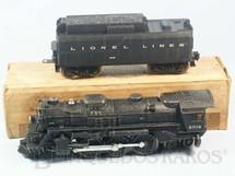 1. Brinquedos antigos - Lionel - Locomotiva a Vapor 2018 com apito e fumaça Ano 1955 a 1956
