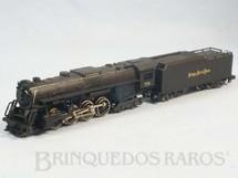 1. Brinquedos antigos - Rivarrossi - Locomotiva a Vapor Clase Berkshire 2-8-4 Ferrovia Nickel Plate Road 19,00 cm de comprimento Década de 1980