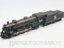 1. Brinquedos antigos - Rivarrossi - Locomotiva a Vapor Classe Pacific 4-6-2 Ferrovia Grand Truck Western 16,00 cm de comprimento Década de 1980