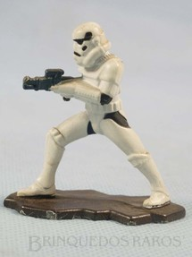 1. Brinquedos antigos - Kenner - Stormtrooper com 5,5 cm de altura Star Wars Lucas Film Série Action Masters Ano 1994