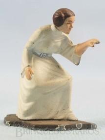 1. Brinquedos antigos - Kenner - Princesa Leia Organa com 4,5 cm de altura Star Wars Lucas Film Série Action Masters Ano 1994