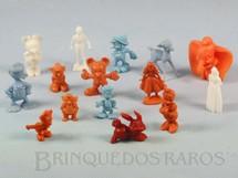 1. Brinquedos antigos - Sem identificação - Figuras Walt Disney Brinde Coca Cola Década de 1970