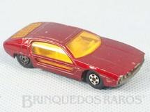 1. Brinquedos antigos - Matchbox - Lamborghini Marzal Superfast Transitional Weels vermelho metálico