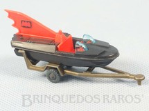 1. Brinquedos antigos - Corgi Toys-Husky - Lancha do Batman Batlancha Batboat and Trailer Husky Ano 1966