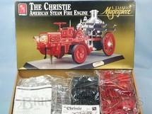 1. Brinquedos antigos - AMT - Caminhão de Bombeiros The Christie American Steam Fire Engine Masterpiece Serie Década de 1990