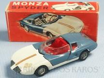 1. Brinquedos antigos - Tekno - Monza Spider versão conversível