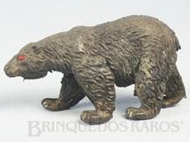 Brinquedos Antigos - Casablanca e Gulliver - Urso negro S�rie Zool�gico D�cada de 1960