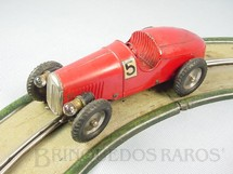 1. Brinquedos antigos - Marklin - Conjunto completo com pista e carro Auto Bahn Renn Auto Corrente Alternada Perfeito estado Ano 1934 a 1937
