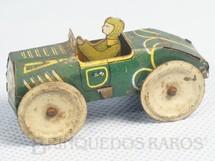 1. Brinquedos antigos - Sem identificação - Carro com 6,00 cm de comprimento Verde  Década de 1930