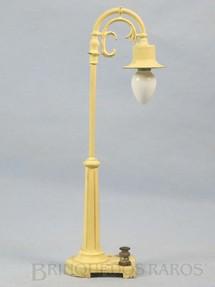 1. Brinquedos antigos - Lionel - Poste de iluminação 75 Tear Drop Lamps Ano 1961 a 1963
